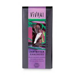 Chocolate Negro Con Avellanas Enteras 100 Gr Bio